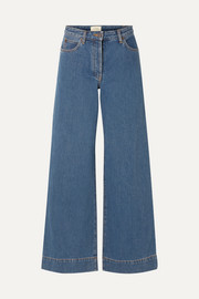 Anat high-rise wide-leg jeans