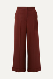 The Row Ane wool wide-leg pants