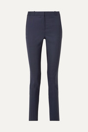 Franklin wool slim-leg pants