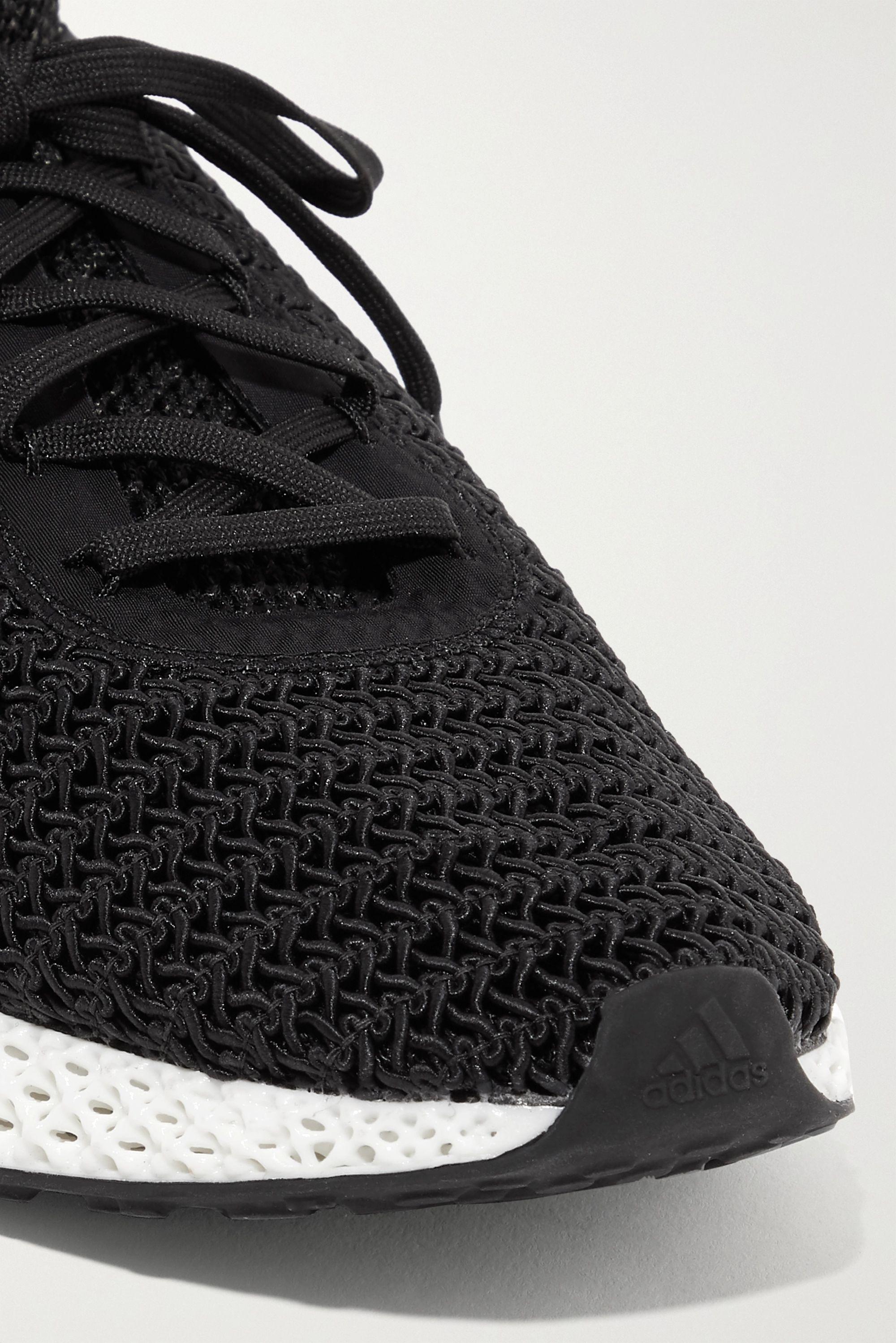 Black AlphaEdge 4D stretch-knit