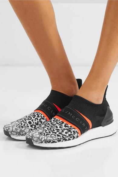 UltraBOOST X 3D leopard-print Primeknit sneakers
