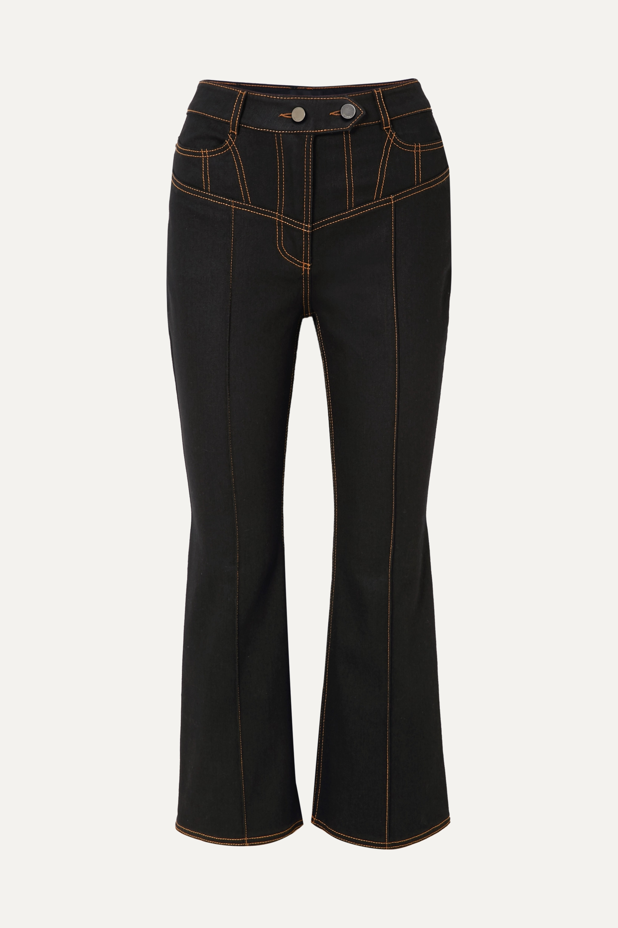 Ellery Presentism high-rise flared jeans