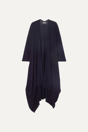 Hern merino wool and cashmere-blend cape