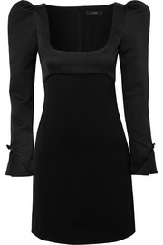 Ellery Heritage faille mini dress