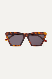 Lisbon cat-eye tortoiseshell acetate sunglasses