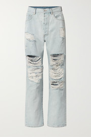 Unravel Project Distressed boyfriend jeans