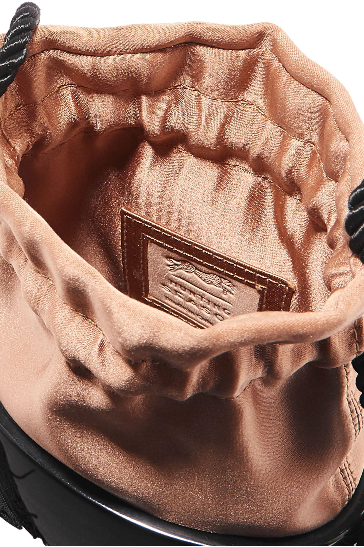 Hunting Season Lola small tasseled silk and acrylic pouch