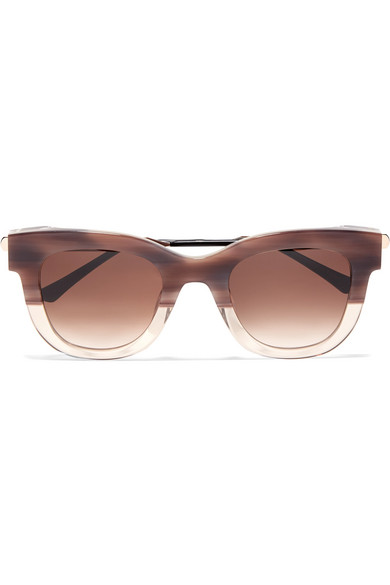 Thierry Lasry - Sexxxy Cat-eye Acetate And Gold-tone Sunglasses - Pink