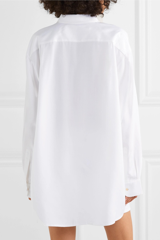 Jacquemus Oversized poplin shirt
