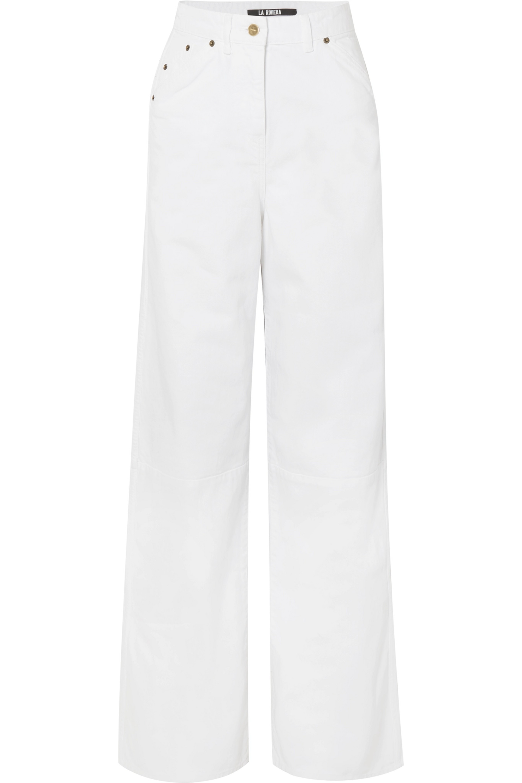 Jacquemus High-rise wide-leg jeans