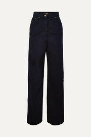 Jacquemus High-rise wide-leg jeans