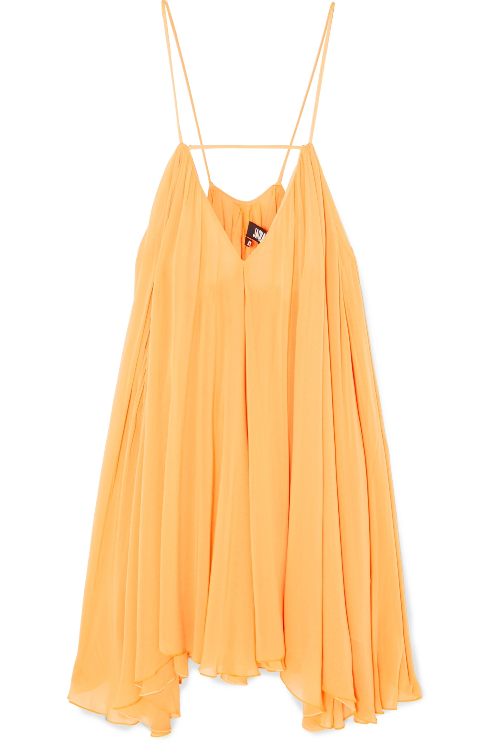 Jacquemus Bellezza chiffon mini dress