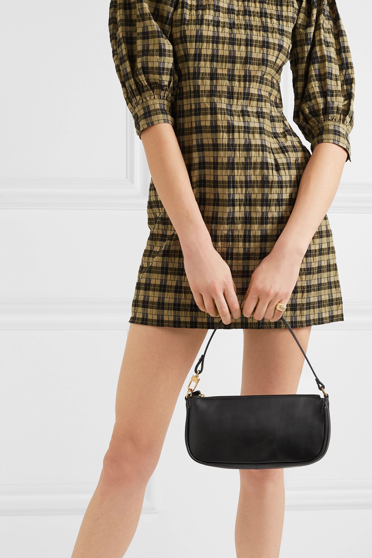 BY FAR Rachel leather shoulder bag