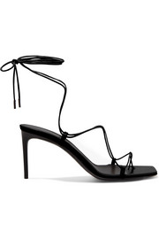 Paris Minimalist leather sandals