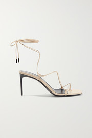 Saint Laurent Paris Minimalist leather sandals