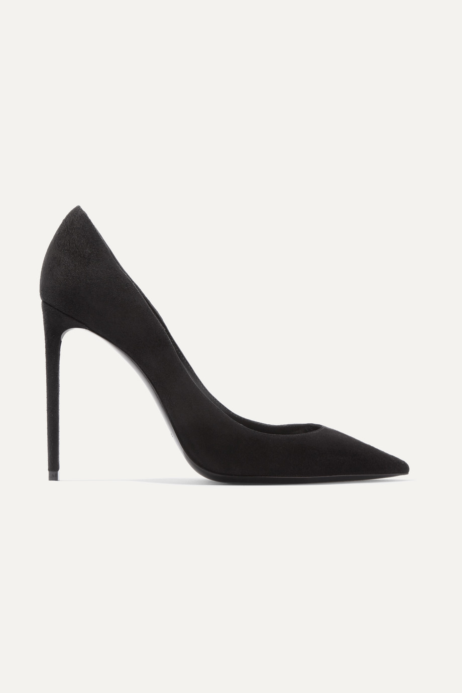 SAINT LAURENT Zoe suede pumps