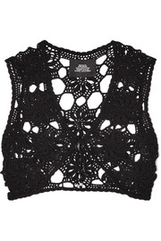 Marc Jacobs Crocheted cotton top
