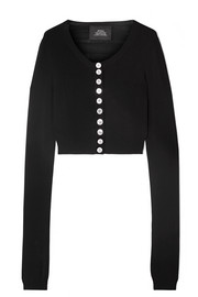 Marc Jacobs Cropped knitted cardigan