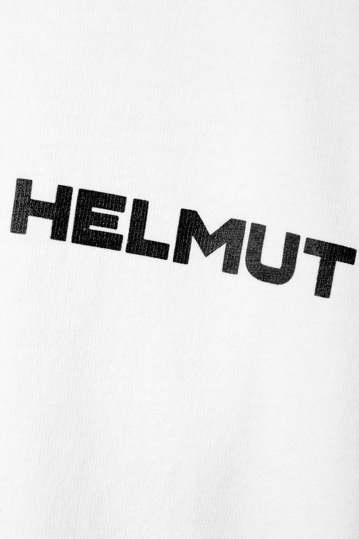 Helmut Lang Little Tee printed cotton-jersey T-shirt