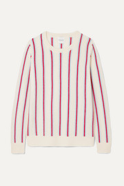 Strombole striped cashmere sweater