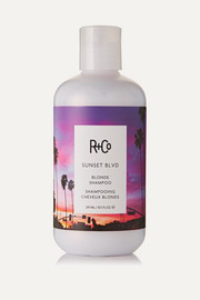 R+Co Shampooing cheveux blonds Sunset Blvd, 241 ml