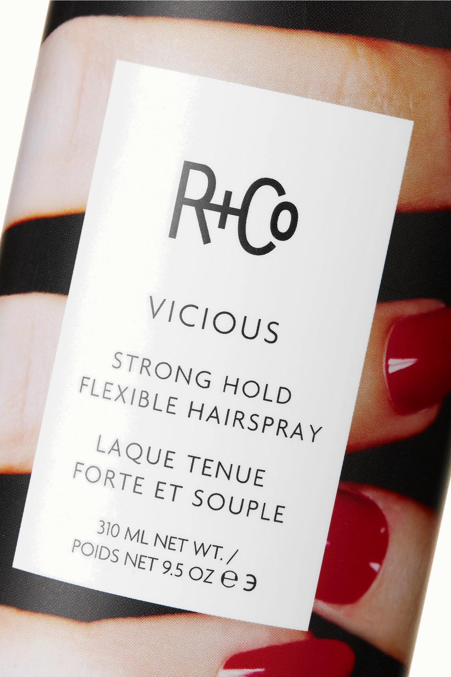 R+Co Vicious Strong Hold Flexible Hairspray, 310ml