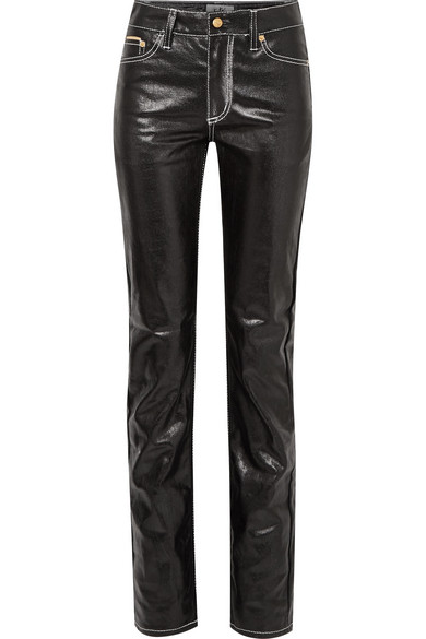 Haute Slim Enduit Jean Taille Cypress uPOXZiTk