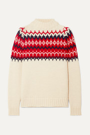 Bansha Fair Isle wool sweater