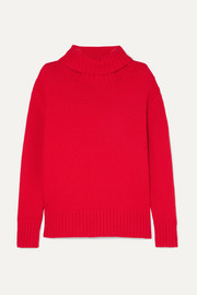 Fintra wool turtleneck sweater