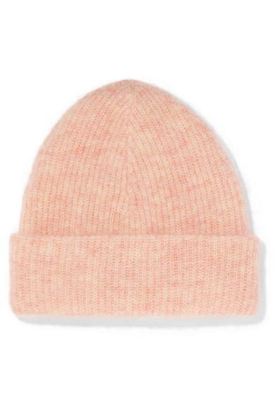 324f34811c4 GANNI. Ribbed-knit beanie