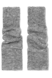 Callahan ribbed-knit fingerless gloves