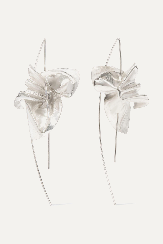 Closer By Wwake Closer by Wwake Lancet silver earrings