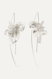 Closer by Wwake Lancet silver earrings