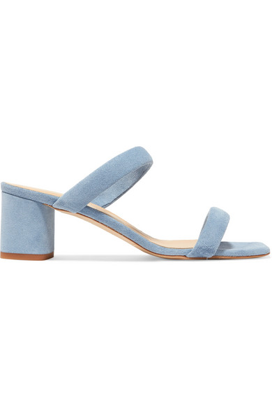 Aeyde Mules COREY SUEDE MULES