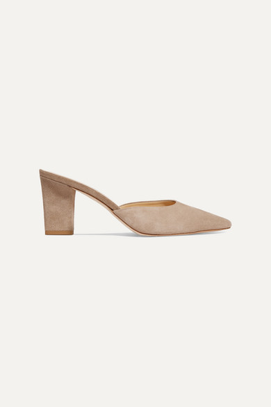 Aeyde Mules SIGNE SUEDE MULES