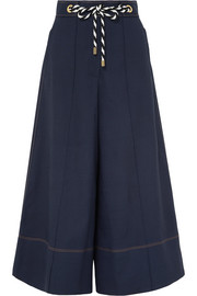 Peter Pilotto Belted canvas culottes