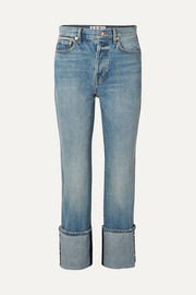 PSWL high-rise straight-leg jeans
