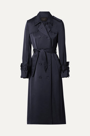 Equipment Trench-coat en satinette Medina