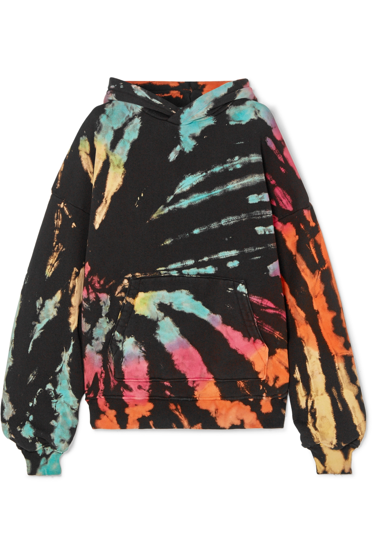 AMIRI Oversized tie-dye cotton-jersey hoodie