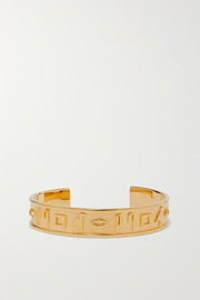 Le Memphis gold-plated cuff