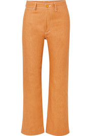 SIMON MILLER W012 high-rise straight-leg jeans