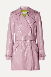 a6e562fbbebc23 Fleur du Mal - PVC trench coat
