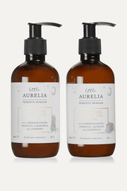 Little Aurelia Sleep Time Top To Toe Wash & Cream, 2 x 240ml
