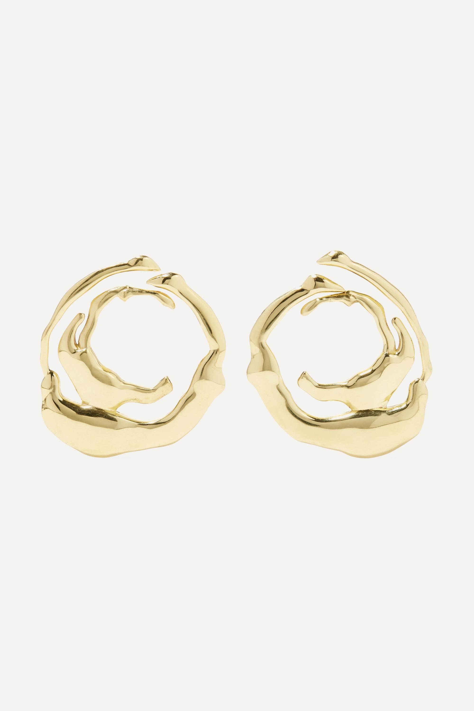Ellery Coutts gold-tone earrings