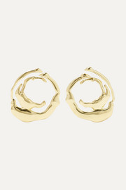Coutts gold-tone earrings