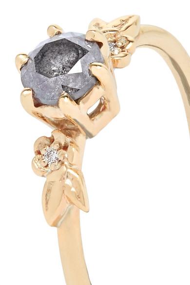 411fb0535 Meadowlark | Alba 9-karat gold diamond ring | NET-A-PORTER.COM