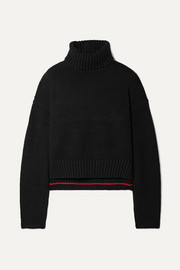 Proenza Schouler Cropped knitted turtleneck sweater