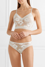 Eres Anemone Pivoine stretch-lace briefs