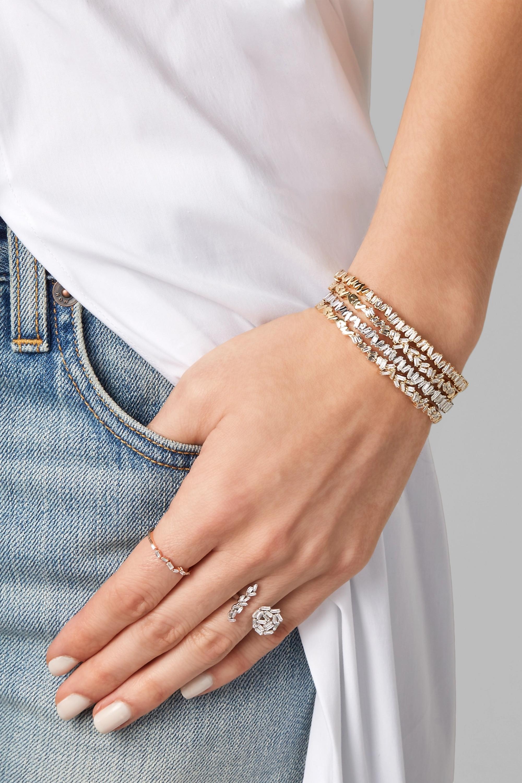 Suzanne Kalan Bracelet en or 18carats et diamants