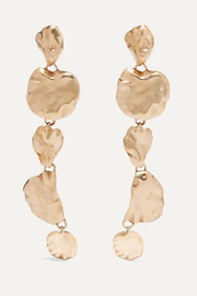 Artemisia gold-tone earrings